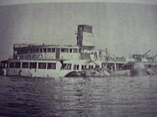 韓国南西部の珍島沖で起きた客船...